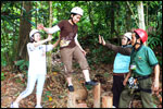 Low Ropes Course - Balance Pole