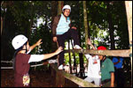 Low Ropes Course - Kangkang Walk