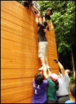 Obstacle Cource 12 Feet Wall