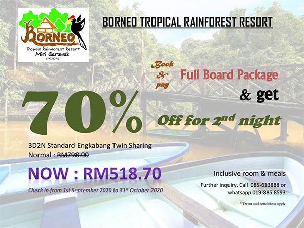 70% Off for 2nd night
